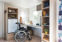 La cuisine du mobile Home à Crozon Morgat en Bretagne